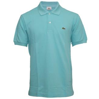 Lacoste pique polo shirt. Lacoste ubiquitous polo shirt in 100% pique cotton ...