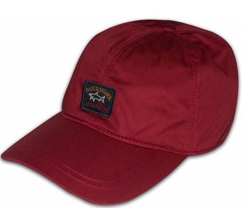 Paul & Shark Base Ball Cap Winter Red
