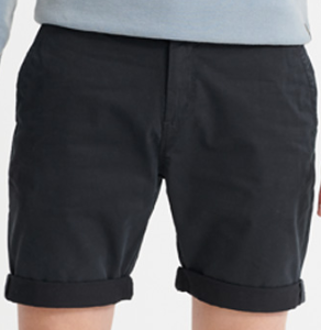 Superdry Dry International Chino Short Navy